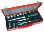 "C.K T4656 Sure Drive 23 Piece Socket Set 3/8"" Drive"